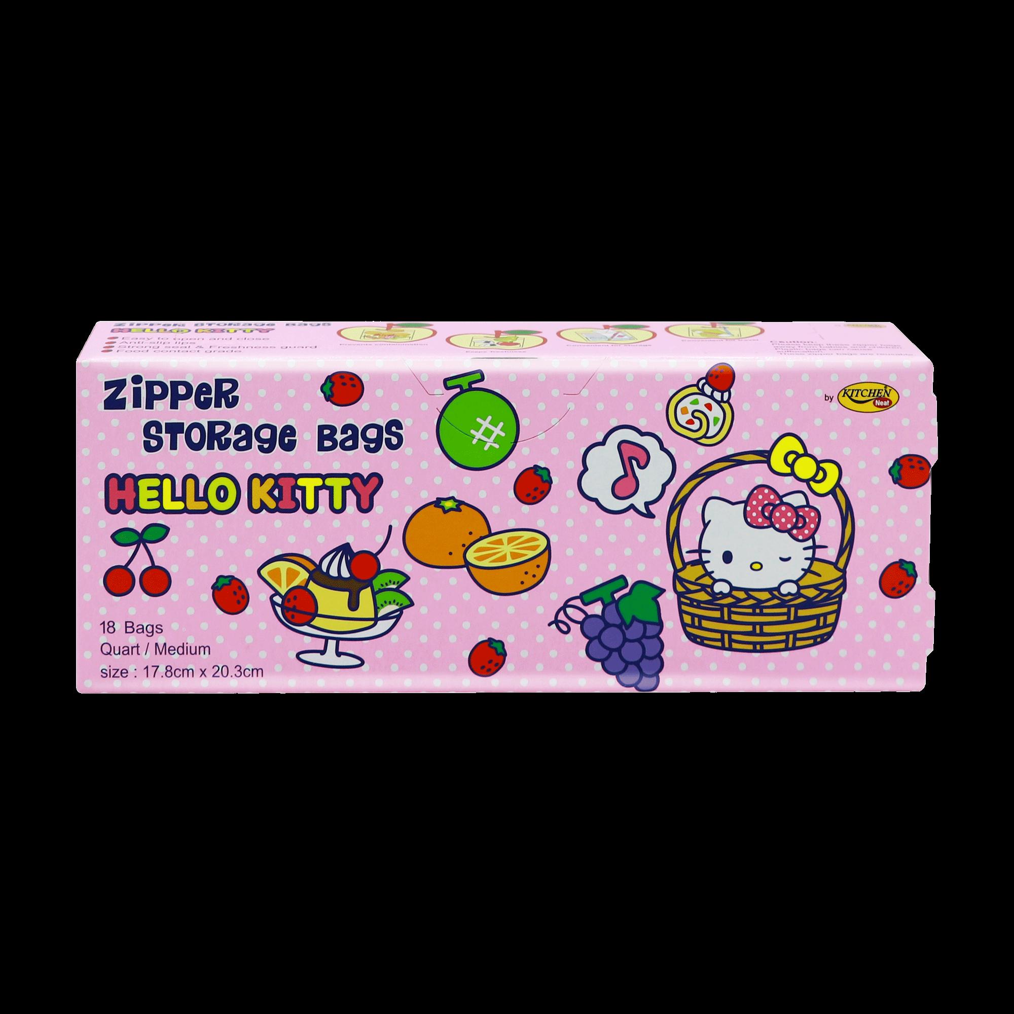 Kitchen Neat Zipper Bag Hello Kitty