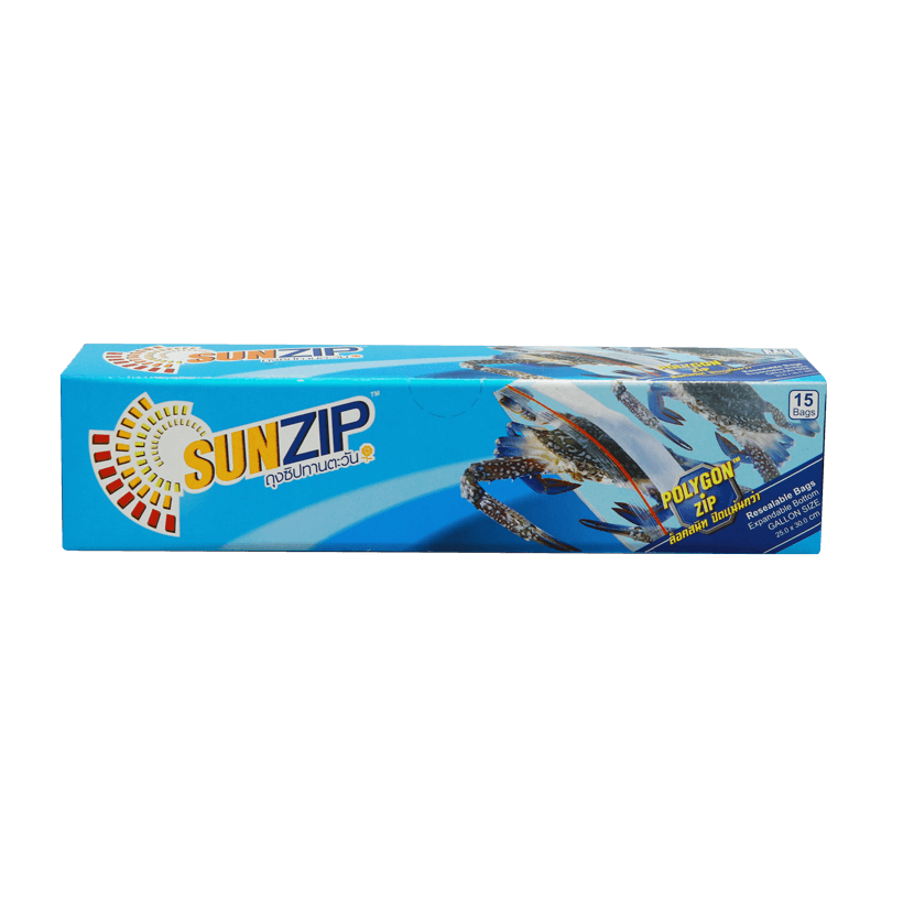 SUNZIP Zipper Bag (Gallon size)