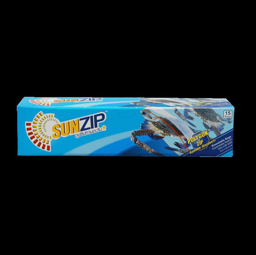 SUNZIP Zipper Bag (Gallon size)