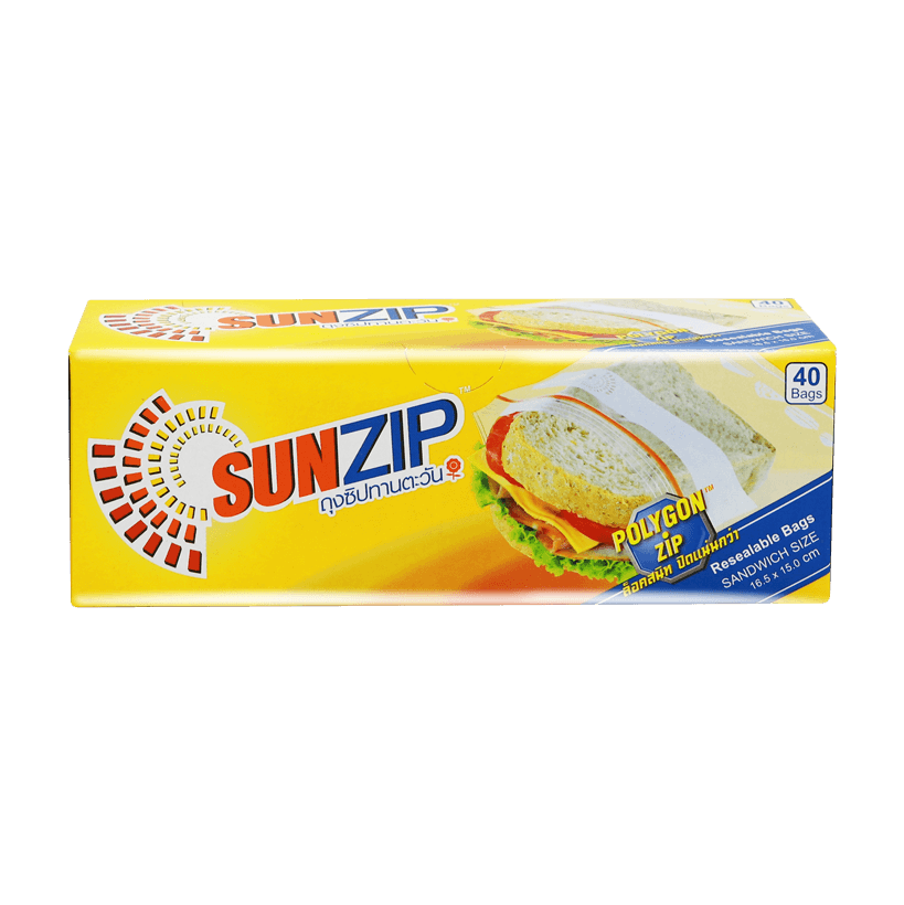 SUNZIP Zipper Bag