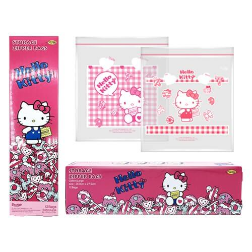 Kitchen Neat ถุงซิป Hello Kitty 2018