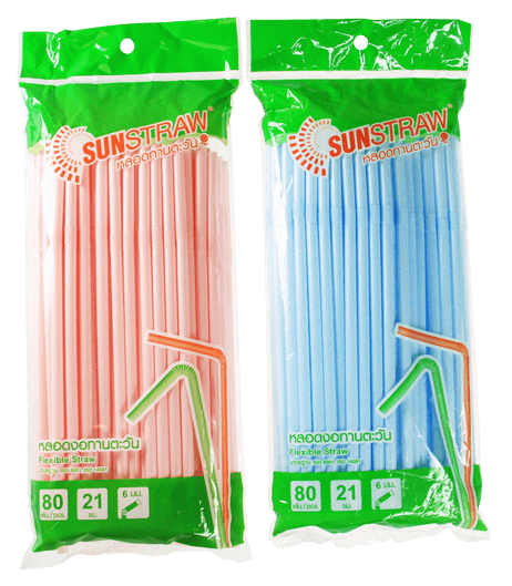 SUNSTRAW Flexible Straw (Random Color)
