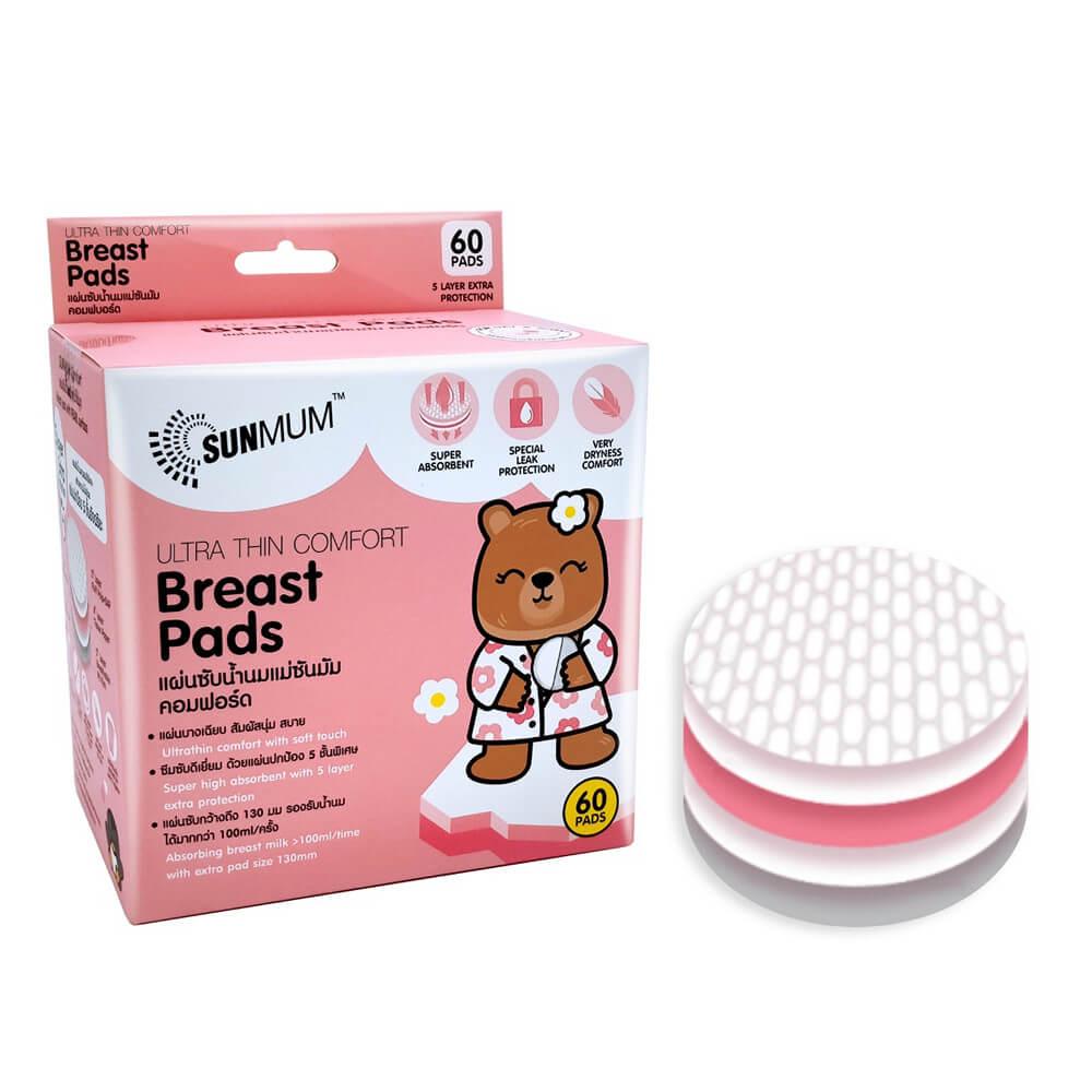 SUNMUM Breast Pads 60 pcs.