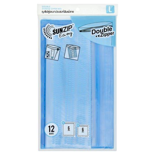 Sunzip easy (L) ถุงซิปล็อค อเนกประสงค์พิมพ์ลาย