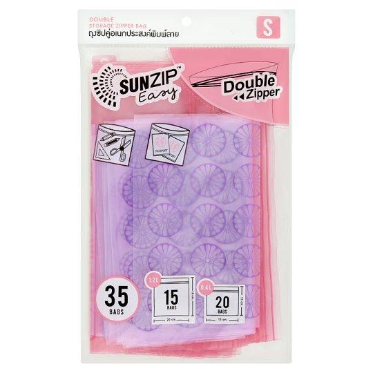 Sunzip easy (S) ถุงซิปล็อค อเนกประสงค์พิมพ์ลาย