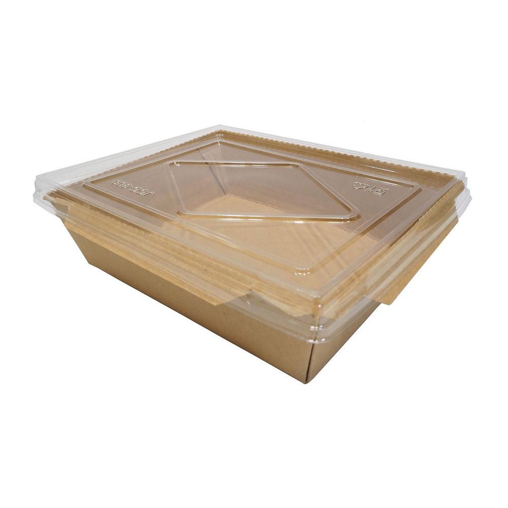 SUNBIO กล่องไฮบริด+ฝา 900 มล. (17 x 13.5 x 4.8 ซม.) 10 ชิ้น
