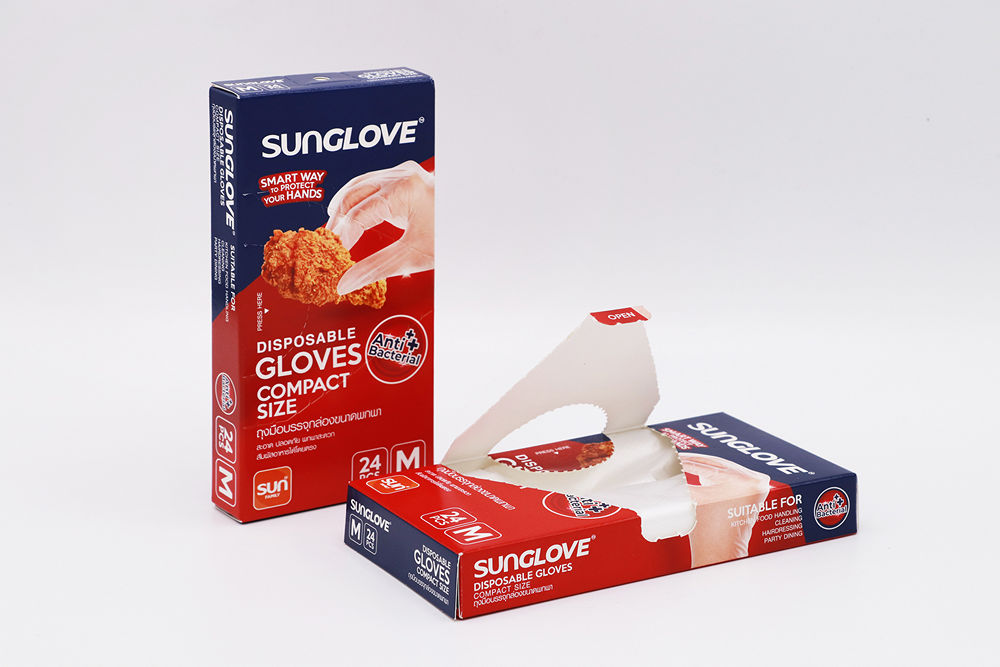 SUNGLOVE ถุงมือแอนตี้แบคทีเรีย ขนาด M